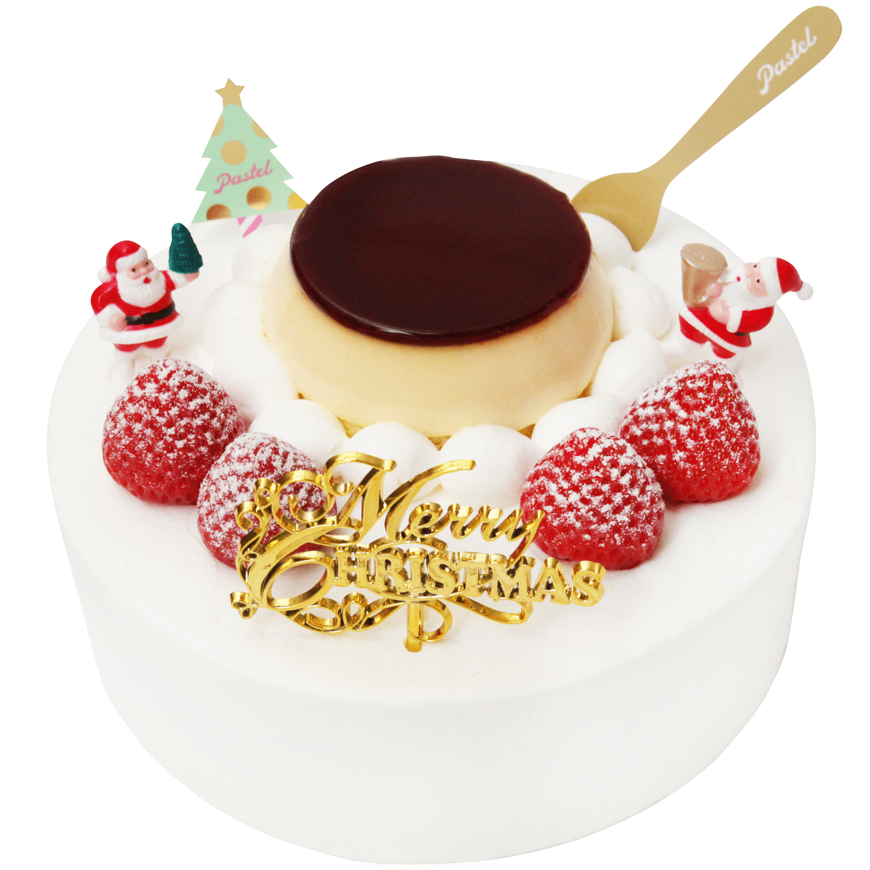 「Pastel」からプリンをまるごと使ったクリスマスケーキが登場! - sub6