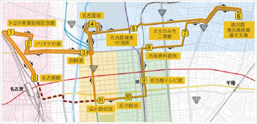 名古屋観光はお得で便利な「なごや観光ルートバス メーグル」におまかせ! - 76d992dcff631d69631627e1692b40fb