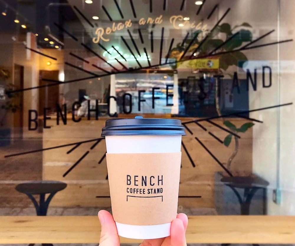 オンの日もオフの日も通いたい。平針にある「BENCH COFFEE STAND(ベンチコーヒースタンド)」