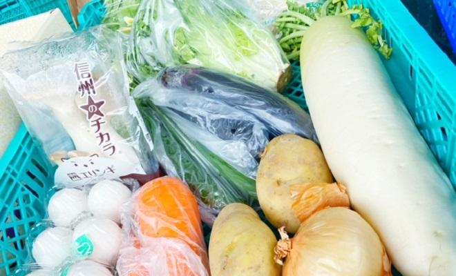 厳選野菜や魚介類を安心・安全に購入!食材の買い物もドライブスルーで