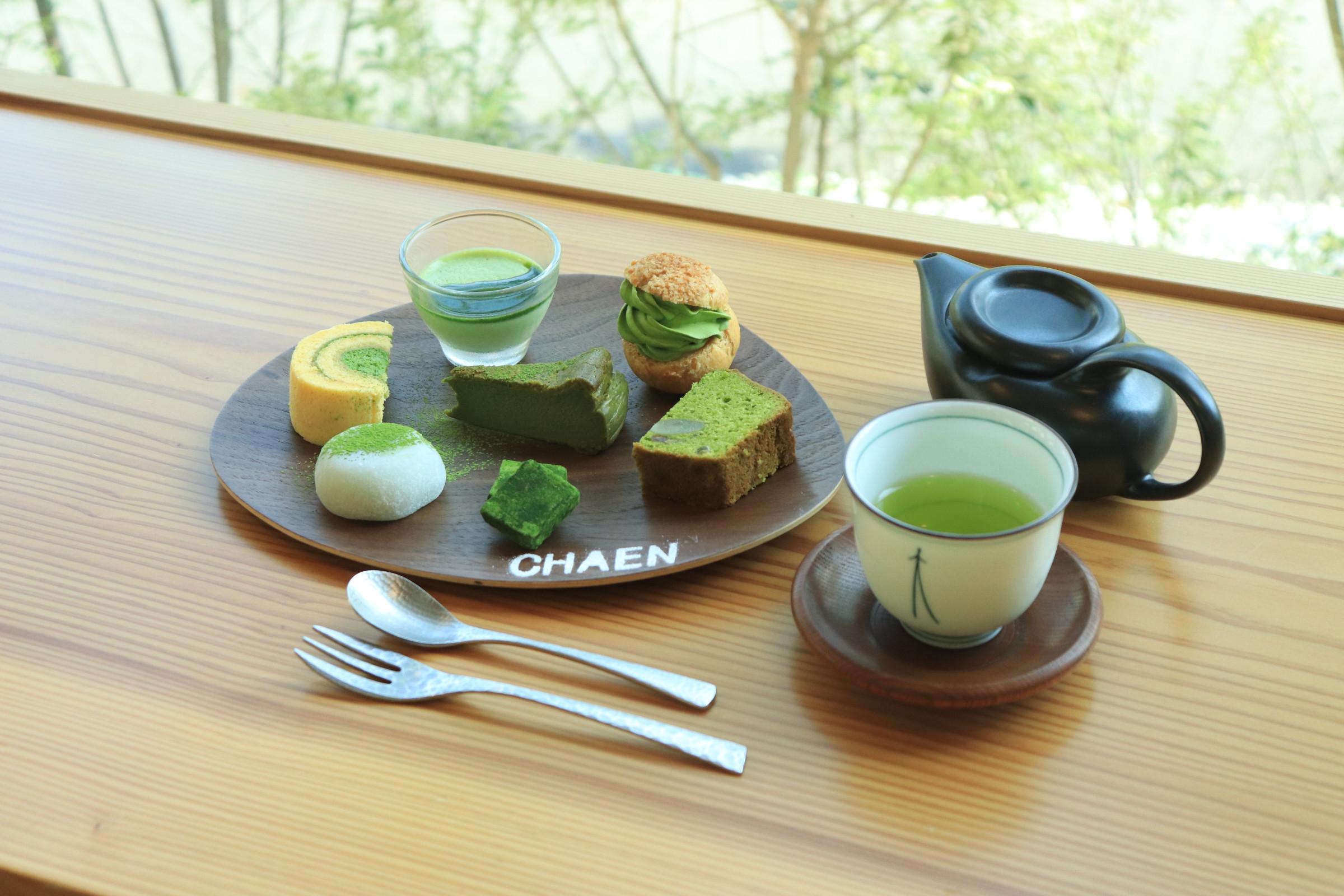 「抹茶の七福神」が大人気!名古屋・車道「日本茶喫茶 茶縁」の本格派スイーツ - chaen4