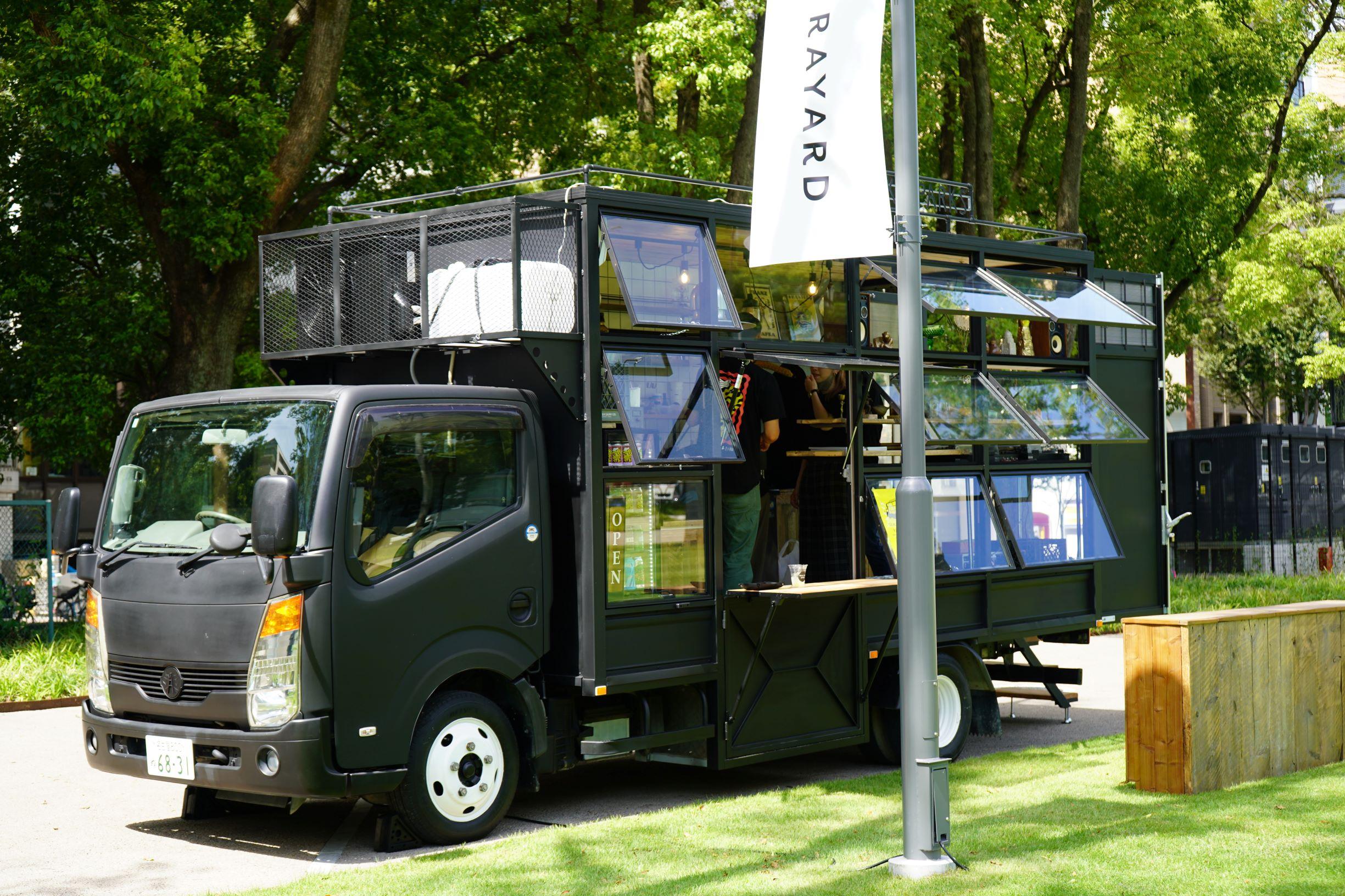 テントにハンモックも!久屋大通パークの芝生広場で、思い思いの過ごし方を - DSC03260