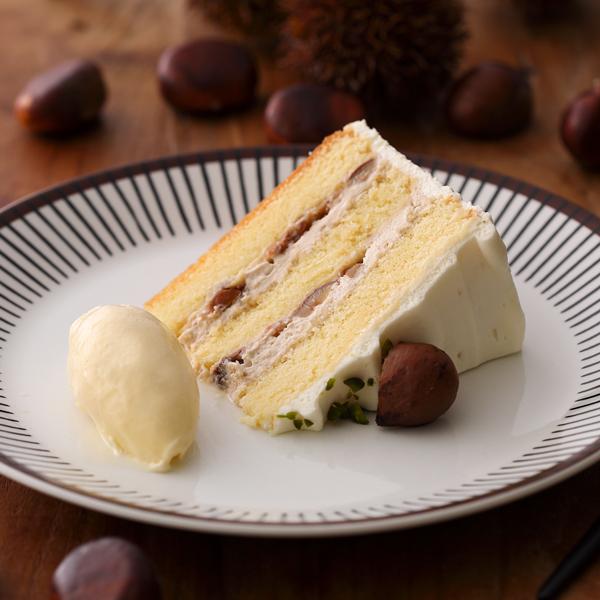 """名鉄百貨店内の「KIHACHI CAFÉ」で、3ヶ月間の""""マロンフェア""""がスタート! - KC de 1910Marron Shortcake"""