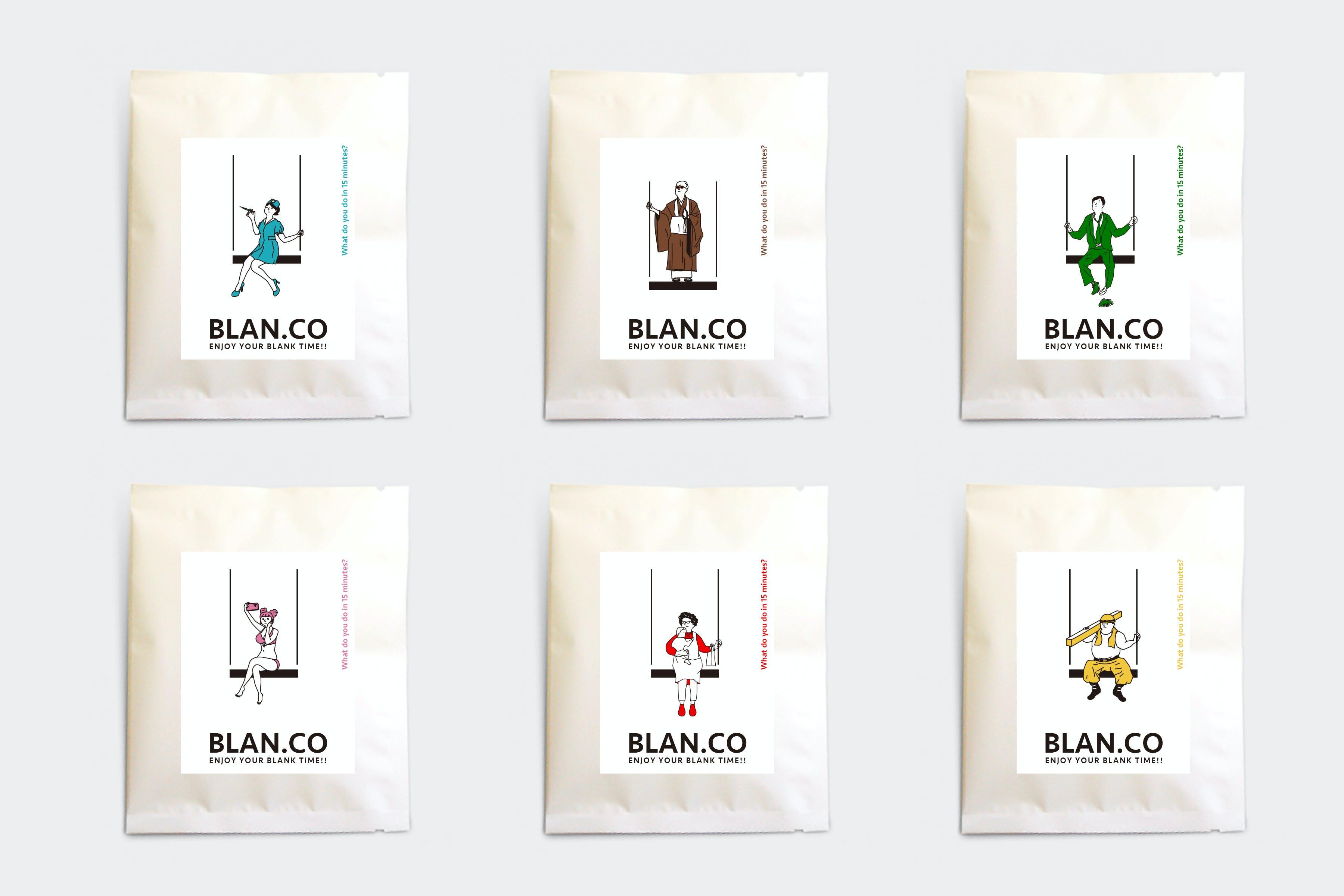 忙しいあなたの1日にほっとする15分の余白を。話題のコーヒーブランド「BLAN.CO」が10/3に久屋大通公園でポップアップ出店! - package all  1