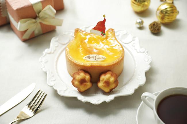 ねこの形のチーズケーキ専門店「ねこねこチーズケーキ」より、可愛すぎるクリスマスケーキが販売中! - 2FEFC822 CC94 4147 90FE D05046C7533E