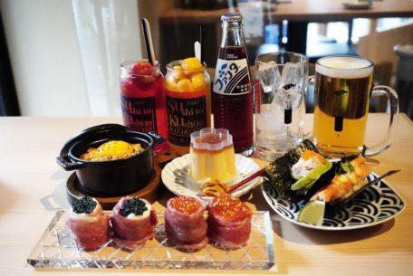 栄駅から徒歩1分!寿司と串揚げを楽しめるネオ大衆酒場「寿司と串とわたくし」