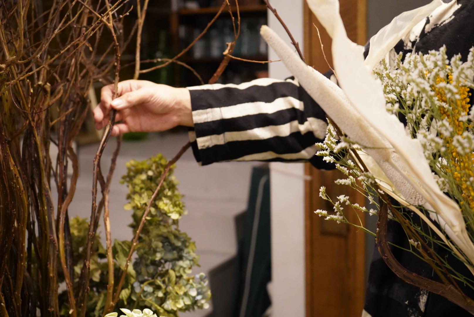 鶴舞のドライフラワーショップ「ある日」で、枯れることない自分らしさを見つけに行こう。 - DSC06180