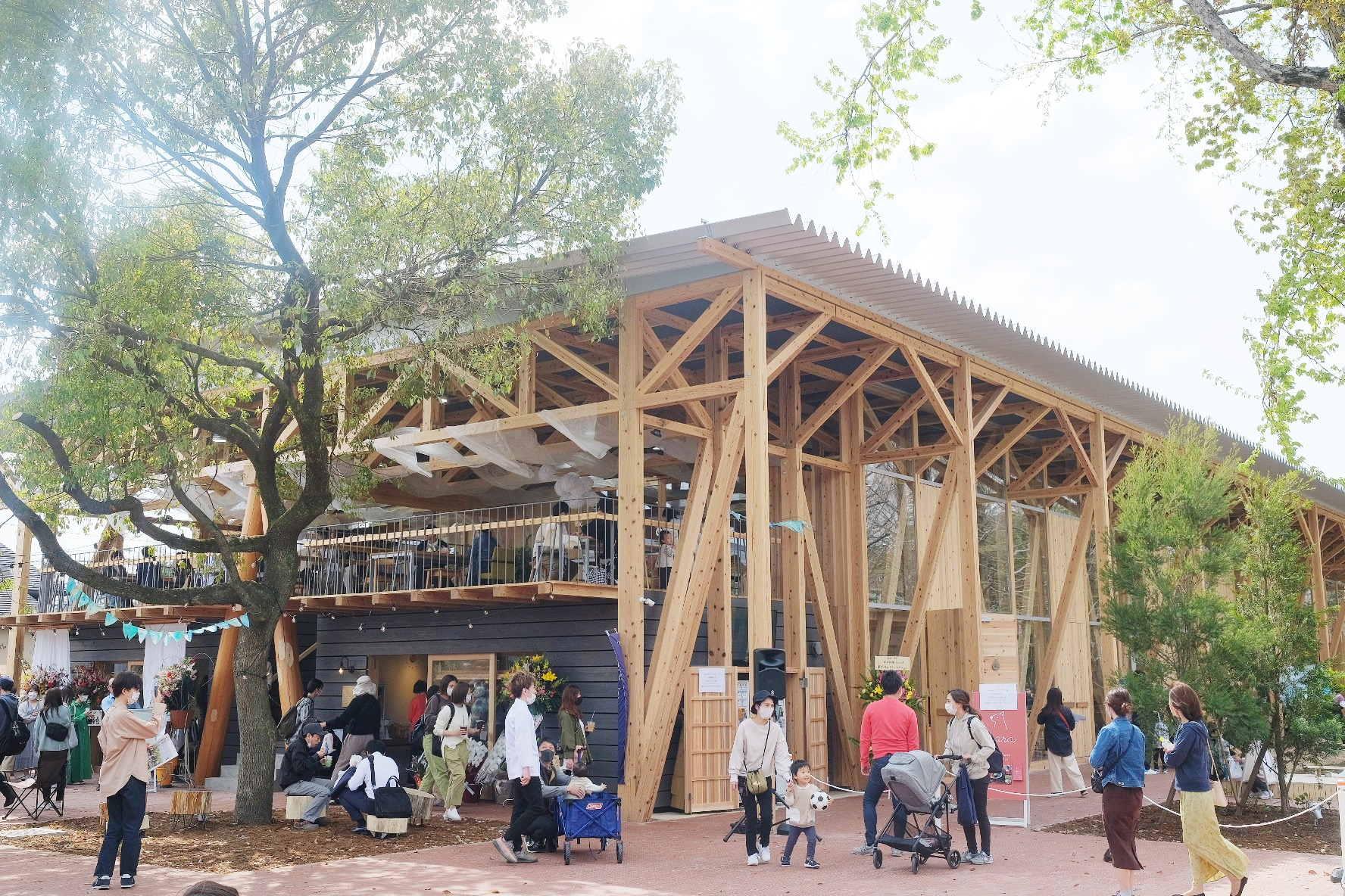 岐阜に「KAKAMIGAHARA PARK BRIDGE(カカミガハラ パーク ブリッジ)」が誕生!気になる公園の魅力をレポート - image14