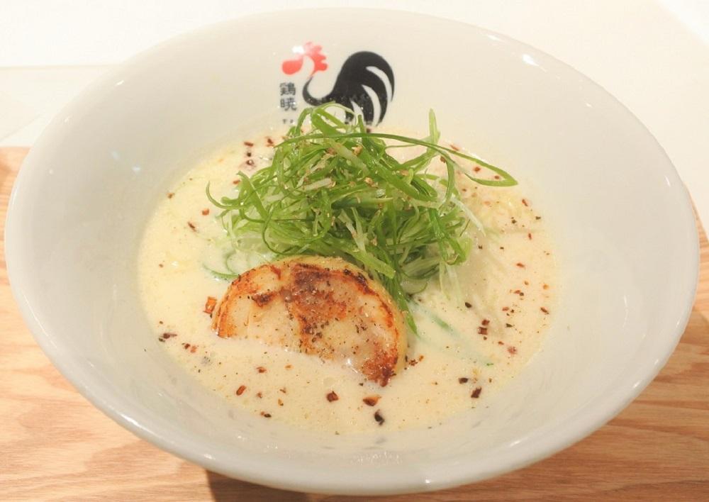 ミシュランが認めた純白ラーメンを堪能!『鶏暁』が新栄にリニューアルオープン