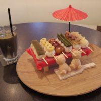 """彩り豊かなお団子がかわいい!カフェと""""和""""が融合した『Mini Lover's Cafe』"""