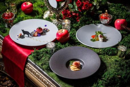 「白雪姫」をモチーフにしたコース!体験型レストラン『ジリオン』で7月1日から期間限定スタート